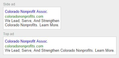 AdWords Sample Branded Ads