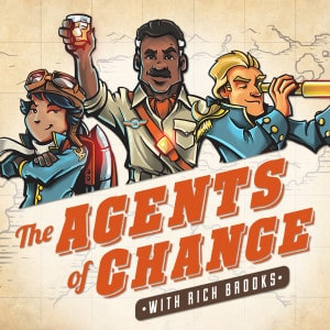 agents of change podcast cover art
