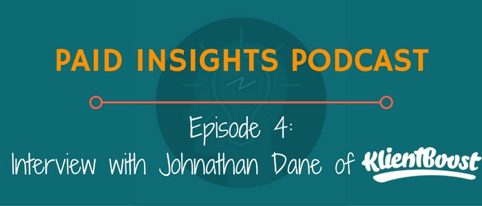PIP 004: Interview With Johnathan Dane Of KlientBoost