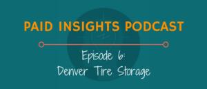 PIP 006: Denver Tire Storage