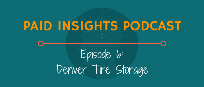 PIP 006: Denver Tire Storage